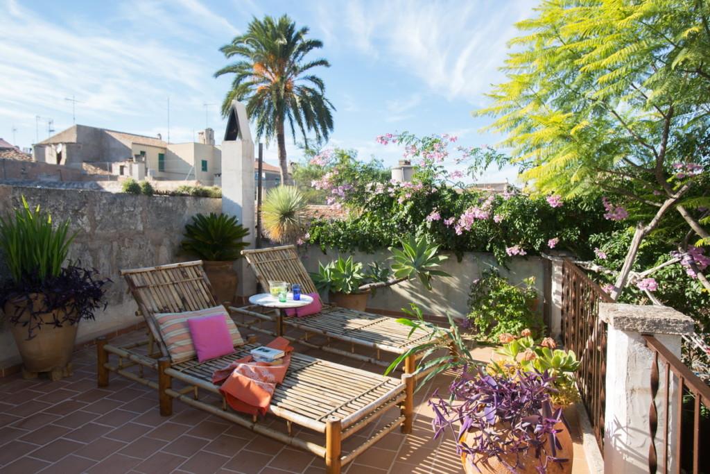 Campos house terrace